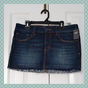 BNWT Abercrombie & Fitch Denim Mini Skirt